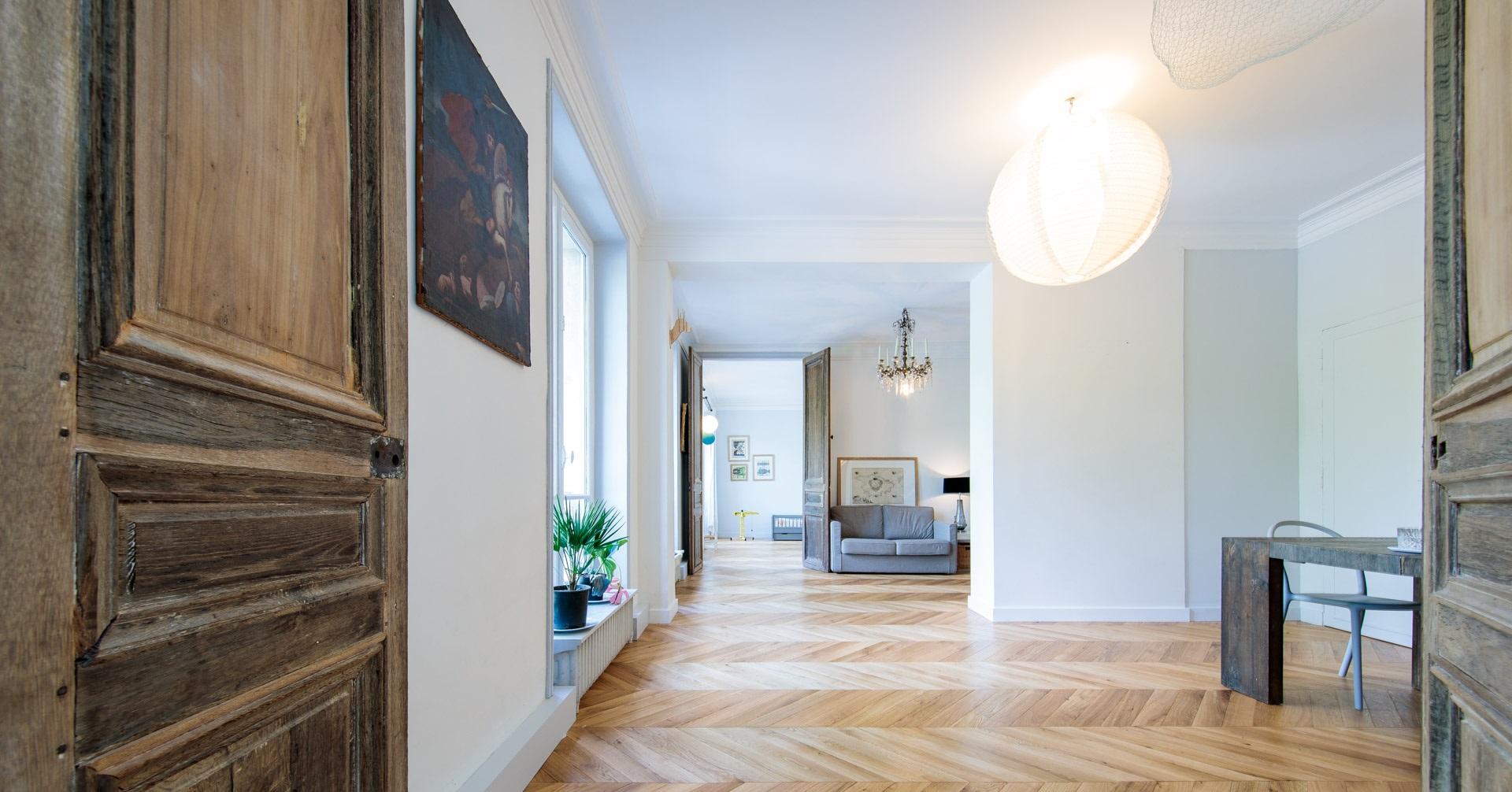 Embellir sa maison avec du parquet de point de Hongrie