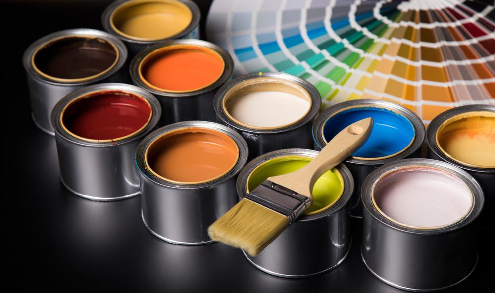 Pot de peinture maison